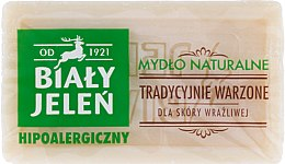 Voňavky, Parfémy, kozmetika Hypoalergénne prírodné mydlo - Bialy Jelen Hypoallergenic Natural Soap