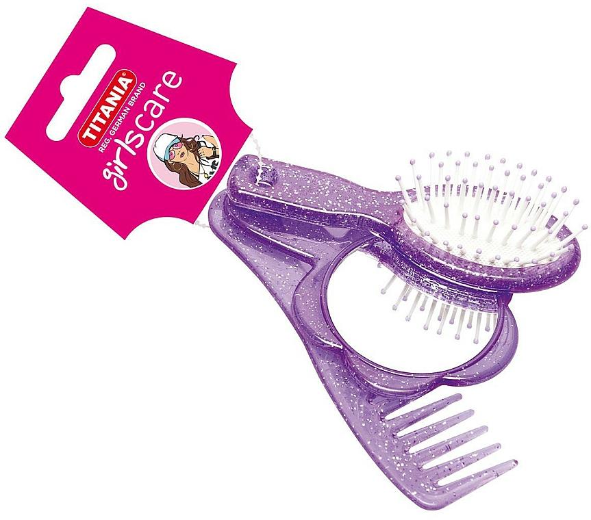 Sada pre dievčatá, 3 kusy, fialová - Titania