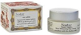 Voňavky, Parfémy, kozmetika Denný bieliaci krém - Sostar Skin Whitening Day Cream SPF15 Enriched With Bio Donkey Milk