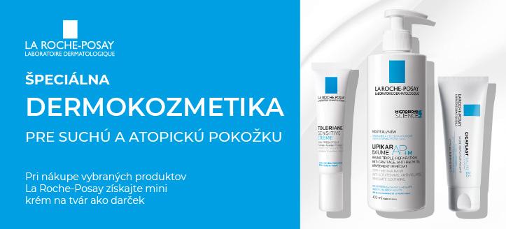 Pri nákupe vybraných produktov La Roche-Posay získajte mini krém na tvár ako darček