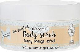 """Voňavky, Parfémy, kozmetika Telový peeling """"Pomarančový sorbet"""" - Nacomi Sunny Orange Sorbet Body Scrub"""