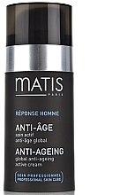 Voňavky, Parfémy, kozmetika Aktívny krém proti starnutiu - Matis Reponse Homme Global Anti-Aging active cream