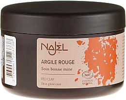 Kozmetický íl Červený - Najel Red Clay For Healthy Glow — Obrázky N1