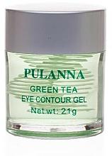 Voňavky, Parfémy, kozmetika Tonizujúci gél na oči - Pulanna Green Tea Eye Countour Gel