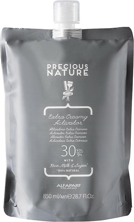 Extra krémový aktivátor 30 obj. (9%) - Alfaparf Precious Nature Extra Creamy Activator 30 Volume (dojpack) — Obrázky N1