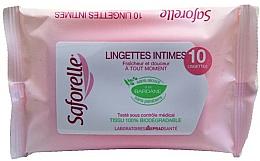 Voňavky, Parfémy, kozmetika Obrúsky pre intímnu hygienu - Saforelle Biodegradable Intimate Wipes