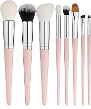 Voňavky, Parfémy, kozmetika Sada štetcov na make-up, Must Have. Pink 8 ks - Colordance