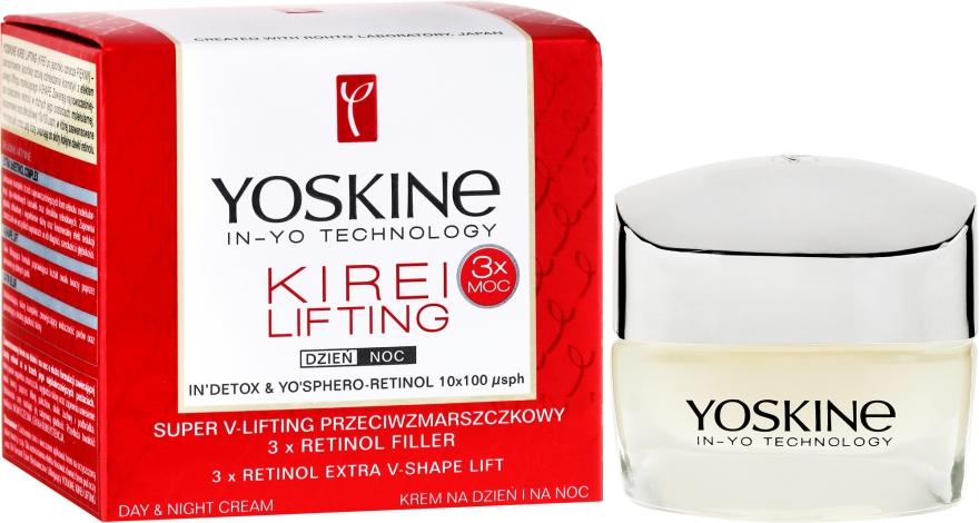 Denný a nočný krém na tvár - Yoskine Kirei Lifting 3 x Retinol Complex