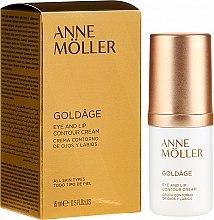 Voňavky, Parfémy, kozmetika Krém na očné kontúry a pery - Anne Moller Goldage Eye and Lip Contour Cream