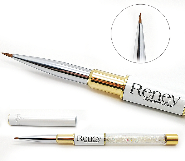 Štetec na nechtový dizajn - Reney Cosmetics Pro Detailer AN01 — Obrázky N1