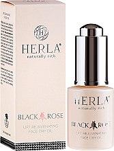 Voňavky, Parfémy, kozmetika Olej na tvár - Herla Black Rose Face Dry Oil