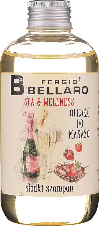 "Masážny olej ""Šampanské"" - Fergio Bellaro Massage Oil Sweet Champagne"