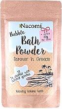 """Púder pre kúpeľ """"Grécke leto"""" - Nacomi Bath Powder  — Obrázky N1"""