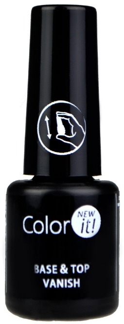 Základ-top pre nechty 2 v 1 - Silcare Color It Base Top Coat 2 in 1