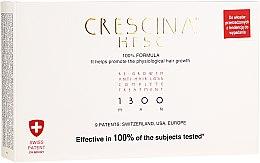 Voňavky, Parfémy, kozmetika Prípravok na podporu rastu vlasov pre mužov 1300 - Labo Crescina Re-Growth Anti-Hair Loss Complete Treatment 1300 Man