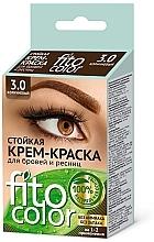 Voňavky, Parfémy, kozmetika Krémové farbivo na obočie a mihalnice - Fito Kosmetik FitoColor