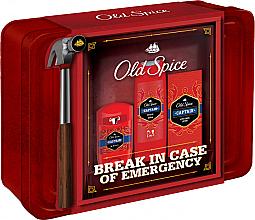 Voňavky, Parfémy, kozmetika Sada - Old Spice Captain Grooming Tin (deo/50g + sh/gel/250ml + ash/lot/100ml)