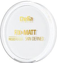 Voňavky, Parfémy, kozmetika Kompaktný púder - Delia Fix & Matt Skin Defined