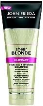 Voňavky, Parfémy, kozmetika Regeneračný šampón na svetlé vlasy - John Frieda Sheer Blonde Hi-Impact Shampoo
