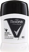 """Voňavky, Parfémy, kozmetika Tuhý dezodorant """"Pre čierne a biele"""" - Rexona Men Deodorant Stick"""