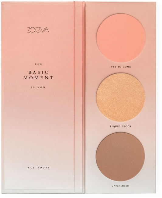 Paleta líceniek - Zoeva The Basic Moment Blush Palette — Obrázky N1