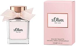 Voňavky, Parfémy, kozmetika S.Oliver For Her - Toaletná voda