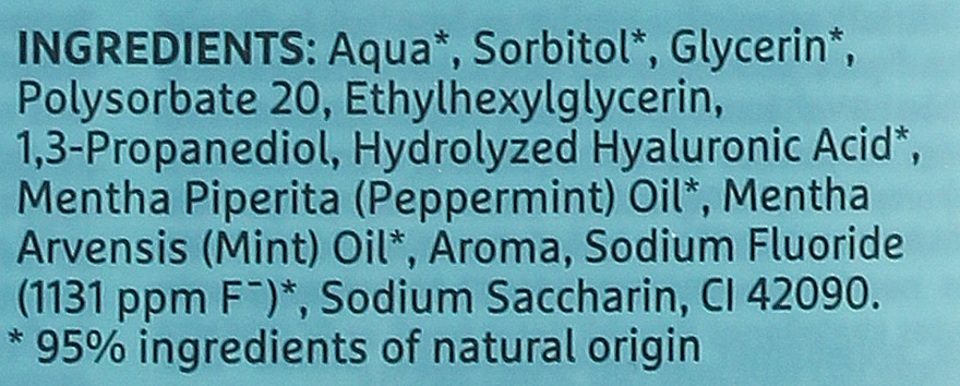 Kondicionér pre ústnu dutinu - Ecodenta Extra Refreshing Mouthwash — Obrázky N3