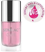 Voňavky, Parfémy, kozmetika Elixírový olej na nechty a kutikuly - Semilac Care Nail & Cuticle Elixir Wish