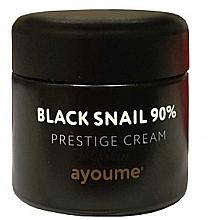 Voňavky, Parfémy, kozmetika Krém na tvár s mucínom čierneho slimáka - Ayoume Black Snail Prestige Cream