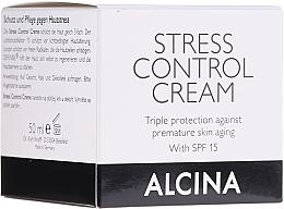 Voňavky, Parfémy, kozmetika Krém pre ochranu o pokožku tváre - Alcina Stress Control Creme