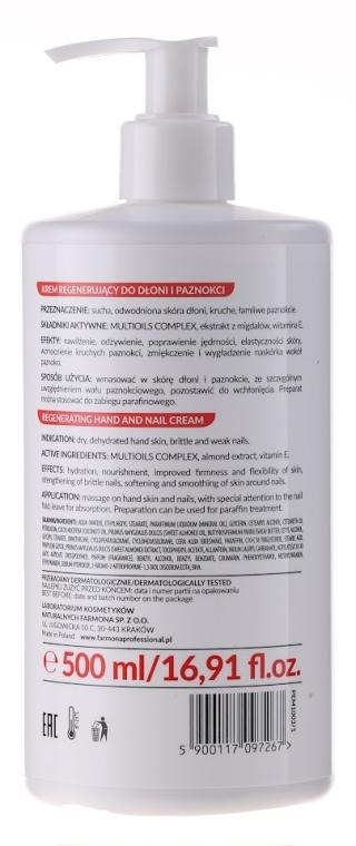 Regeneračný krém na ruky a nechty - Farmona Exotic Manicure SPA — Obrázky N2