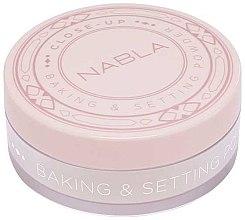 Voňavky, Parfémy, kozmetika Sypký púder - Nabla Close-Up Baking Setting Powder