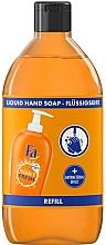 Voňavky, Parfémy, kozmetika Tekuté mydlo s pomarančovou vôňou s antibakteriálnym účinkom - Fa Hygiene & Fresh Orange Scent Liquid Soap (náhradná jednotka)