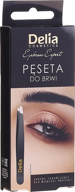 Pinzeta na obočie - Delia Cosmetics Eyebrow Expert