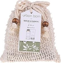 Voňavky, Parfémy, kozmetika Sada - Baylis & Harding Urban Barn Lime, Basil & Mint (b/cleanser/100 ml + b/cr/50ml)