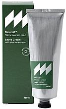 Voňavky, Parfémy, kozmetika Krém na holenie s extraktom z aloe vera - Monolit Skincare For Men Shave Cream With Aloe Vera Extract