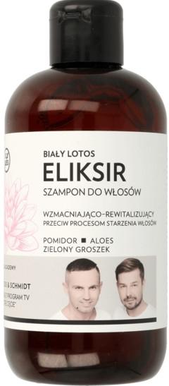 """Posilňujúci a regeneračný elixír a šampón na vlasy """"Biely lotos"""" - WS Academy"""