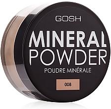 Voňavky, Parfémy, kozmetika Minerálny púder - Gosh Mineral Powder