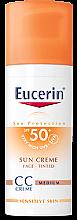 Voňavky, Parfémy, kozmetika CC Krém - Eucerin CC-creme Sunscreen for face SPF 50+
