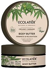 """Voňavky, Parfémy, kozmetika Krémové maslo na telo """"Pružnosť a relaxácia"""" - Ecolatier Organic Cannabis Body Butter"""