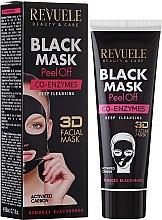 """Voňavky, Parfémy, kozmetika Čierna maska na tvár """"Koenzým Q10"""" - Revuele Black Mask Peel Off Co-Enzymes"""