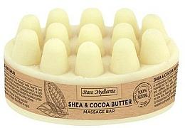Voňavky, Parfémy, kozmetika Masážne maslo na telo - Stara Mydlarnia Body Mania Shea & Cocoa Butter Massage Bar
