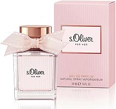 Voňavky, Parfémy, kozmetika S.Oliver For Her - Parfumovaná voda