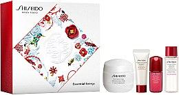 Voňavky, Parfémy, kozmetika Sada - Shiseido Essential Energy Holiday Kit (cr/50ml + foam/15ml + f/lot/15ml + conc/5ml)