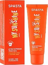 """Voňavky, Parfémy, kozmetika Detská prírodná zubná pasta """"Prevencia kazu a posilnenie skloviny"""" - Spasta My Sunshine"""