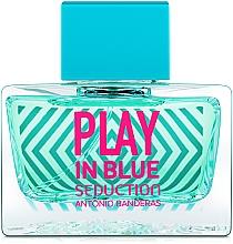Voňavky, Parfémy, kozmetika Antonio Banderas Play In Blue Seduction - Toaletná voda