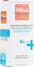 Voňavky, Parfémy, kozmetika Hydratačný krém pre normálnu a kombinovanú pokožku - Mixa Sensitive Skin Expert 24 HR Moisturising Cream