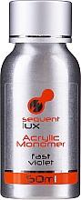 Voňavky, Parfémy, kozmetika Monomér na akryl - Silcare Sequent Lux Acrylic Monomer Fast Violet
