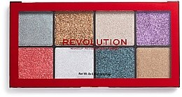 Voňavky, Parfémy, kozmetika Paleta glitterov - Makeup Revolution Halloween 2019 Pressed Glitter Palette