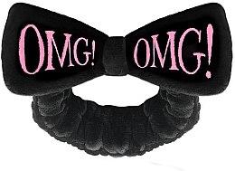 Voňavky, Parfémy, kozmetika Kozmetický obväz na vlasy, čierny - Double Dare OMG! Black Hair Band